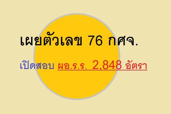 เผยตัวเลข 76 กศจ.เปิดสอบ ผอ.ร.ร.2,848 อัตรา จ.สุราษฎรธานี รับมากสุด 107 อัตรา