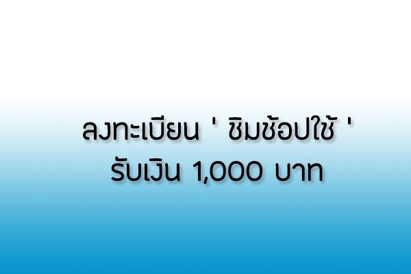 เว็บลงทะเบียน ชิมช้อปใช้.com รับเงินเที่ยว 1000 บาท เข้าไม่ได้